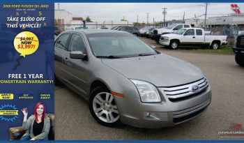 2008 Ford Fusion SEL AWD_Blue New Frame_Comp